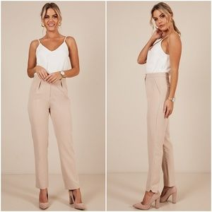 NWT Showpo Clever Lady Pants